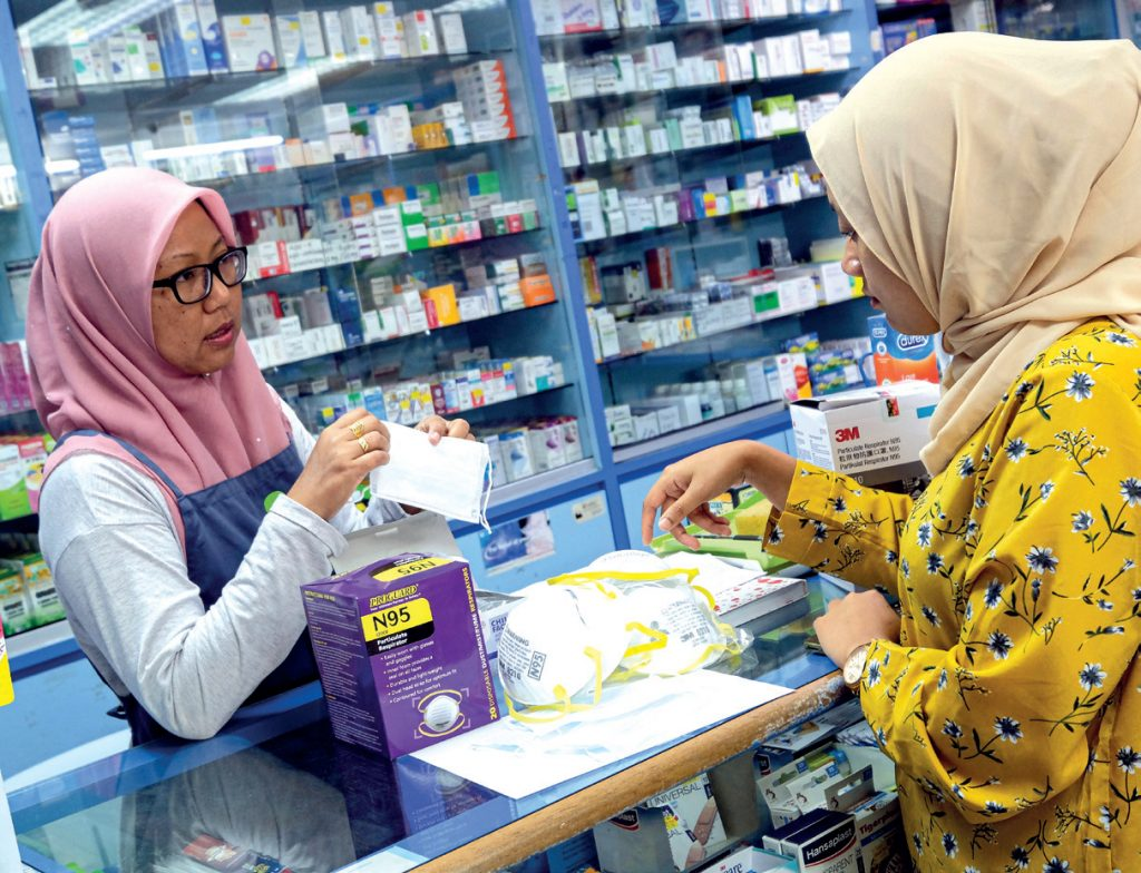Stern action against traders who hike prices of face masks