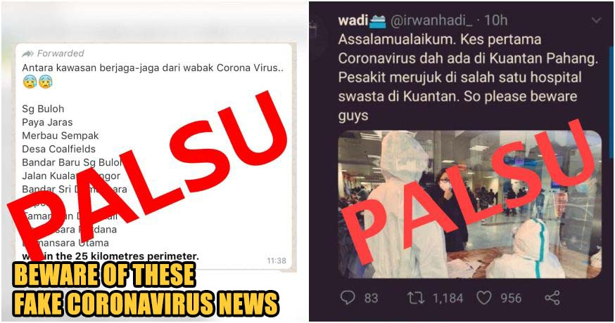 Beware: These 10 Stories About Wuhan Coronavirus in Malaysia Are Fake News!