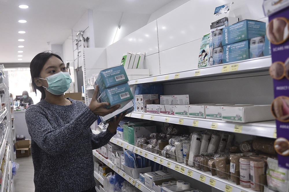 Two pharmacies in Johor selling face masks at higher prices issued compounds