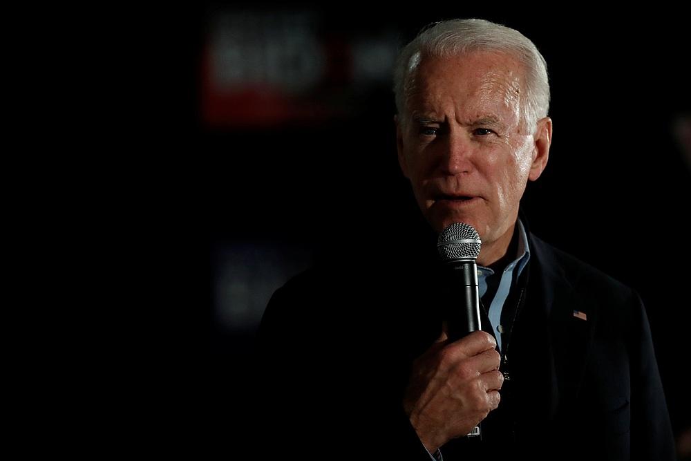 In new gaffe, White House hopeful Biden says running for 'Senate'