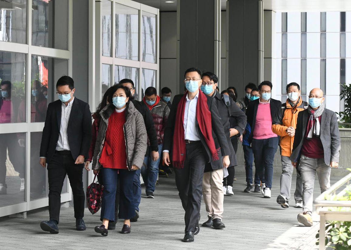 【新冠肺炎】麦美娟引述政府指正全球搜购口罩 若供应充足考虑向市民派发
