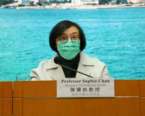 【新冠肺炎】口罩供不应求 陈肇始:政府正争取全球搜购