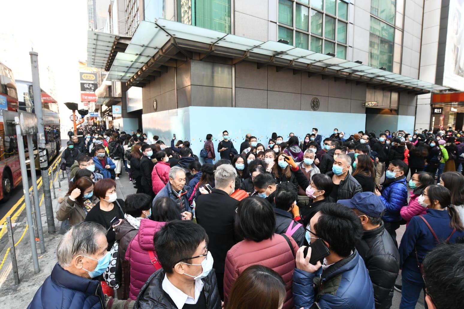 【新冠肺炎】卫署医管局下午4时30分简报疫情