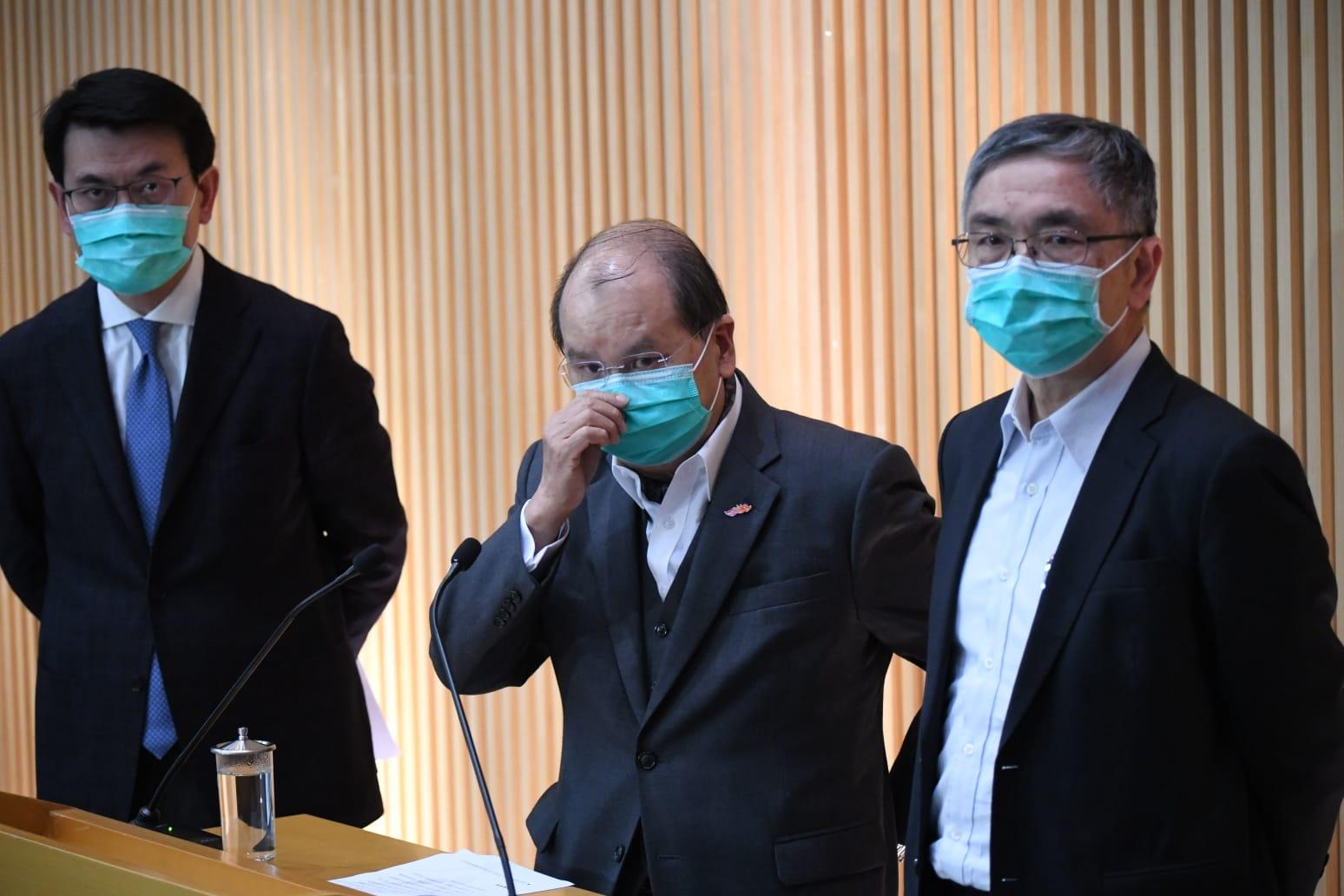 【新冠肺炎】政府澄清物流署仓库内仅1100万口罩 只够约1至2个月使用