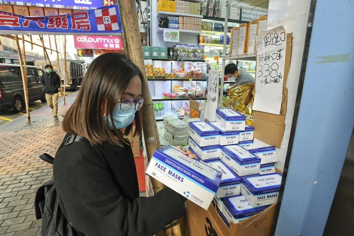 【新冠肺炎】政府:先照顾医护及护理人员需要 吁私人及团体捐口罩
