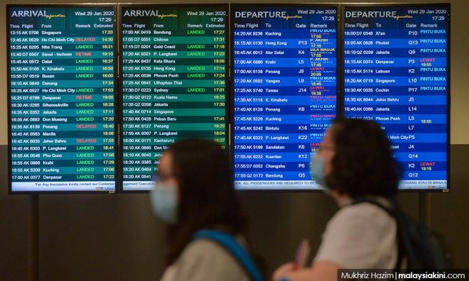 沙巴暂停全部中国航班,联邦政府则在研究