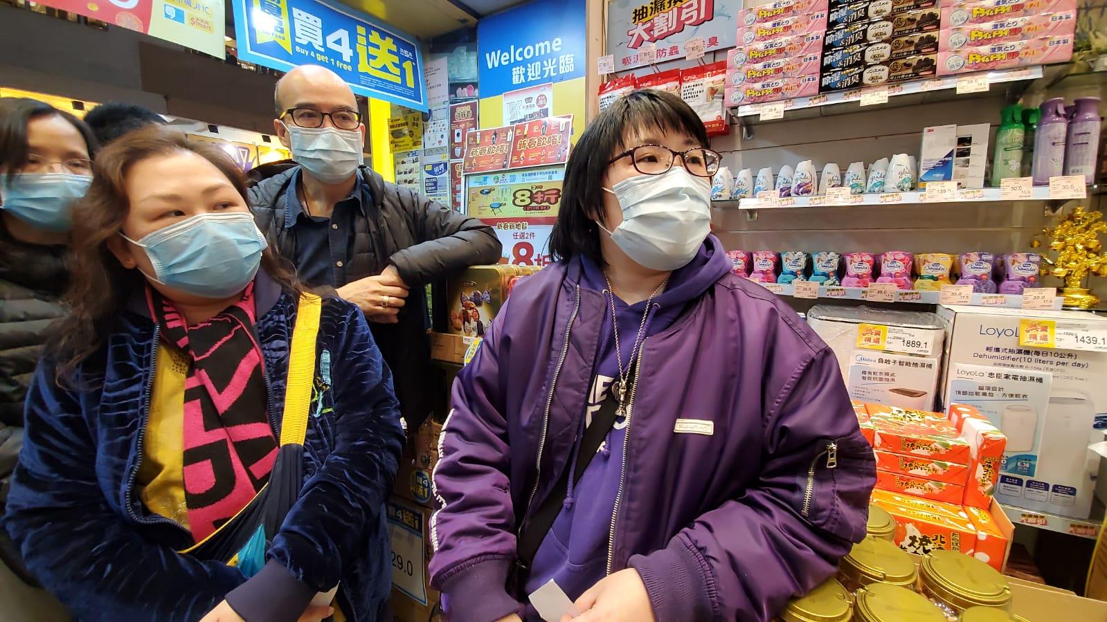 【新冠肺炎】日本城买口罩大排长龙 油麻地分店500筹已派清