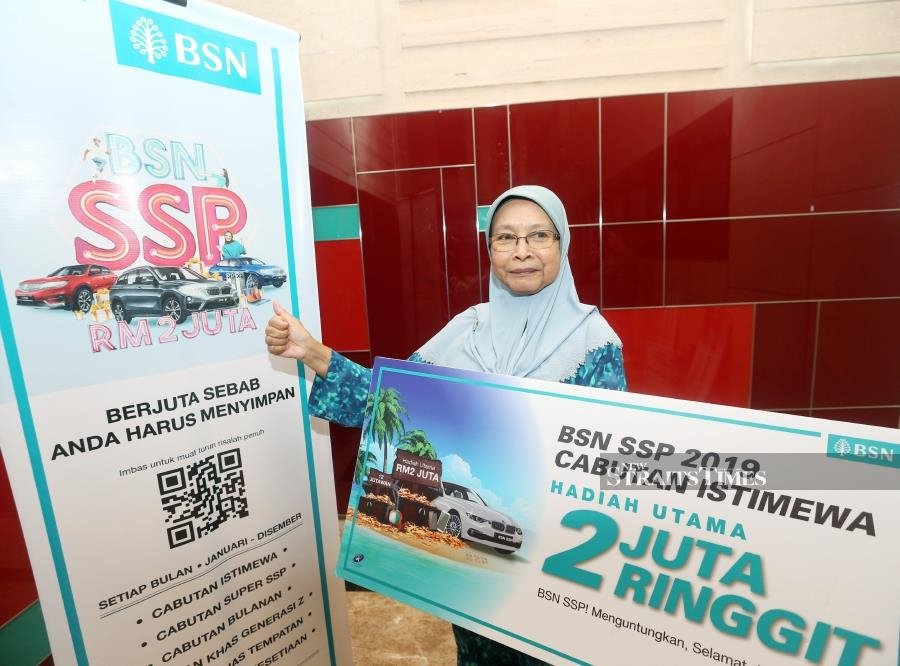 Pensioner walks away with RM2mil from BSN SSP lucky draw