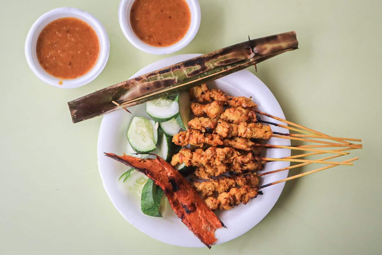 Victor Veggie – Vegetarian Satay That Could be Mistaken for Real Meat!