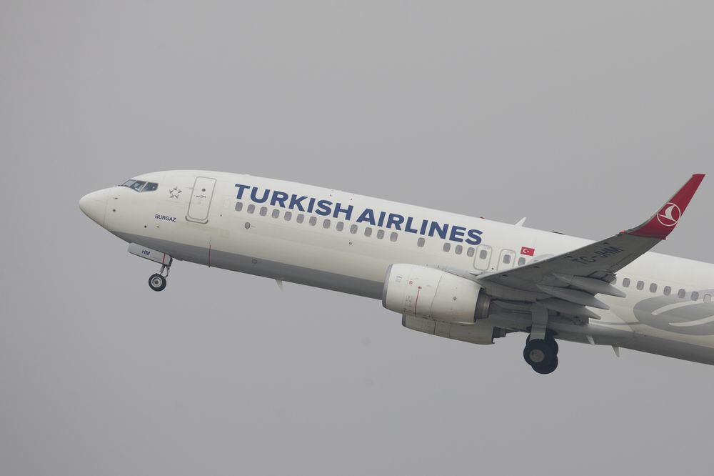 Turkish Airlines suspends flights to China