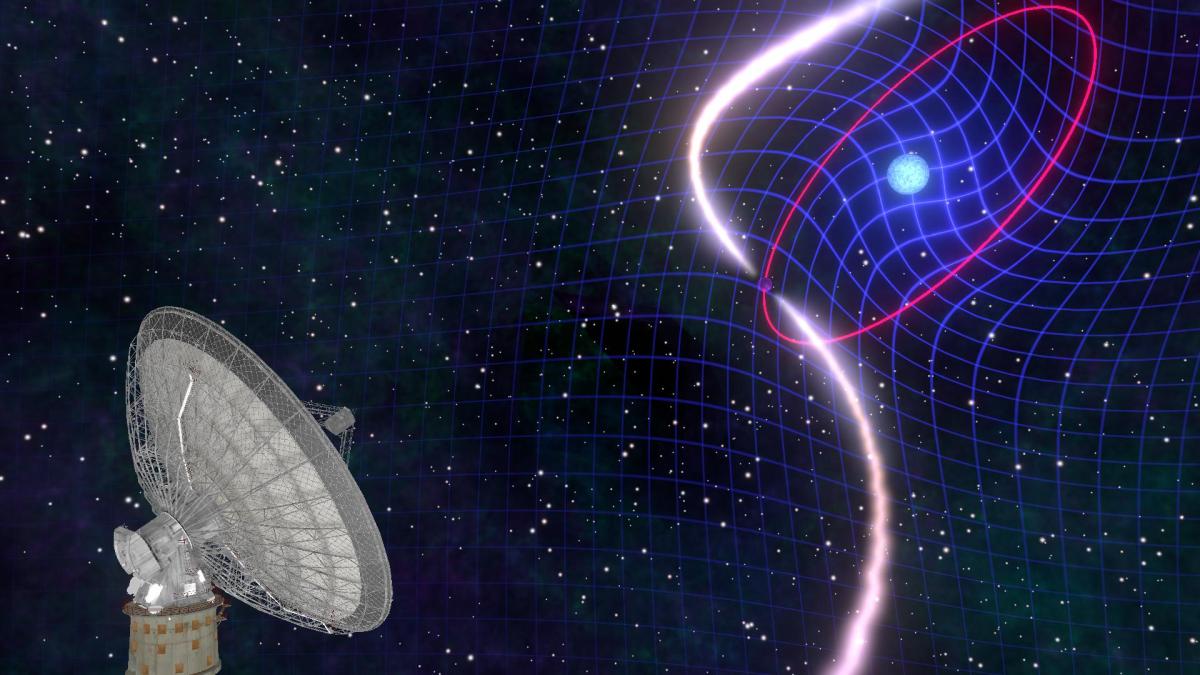 Astrophysicists Observe Star Dragging Space-Time