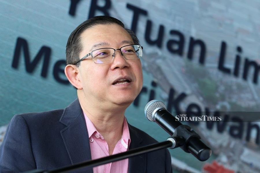 Guan Eng: Did Dr M mention PPSMI?