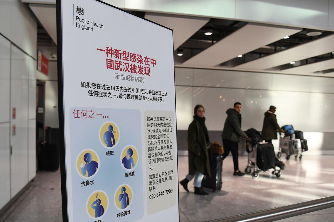 Wuhan virus: UK withdraws some staff from China embassy