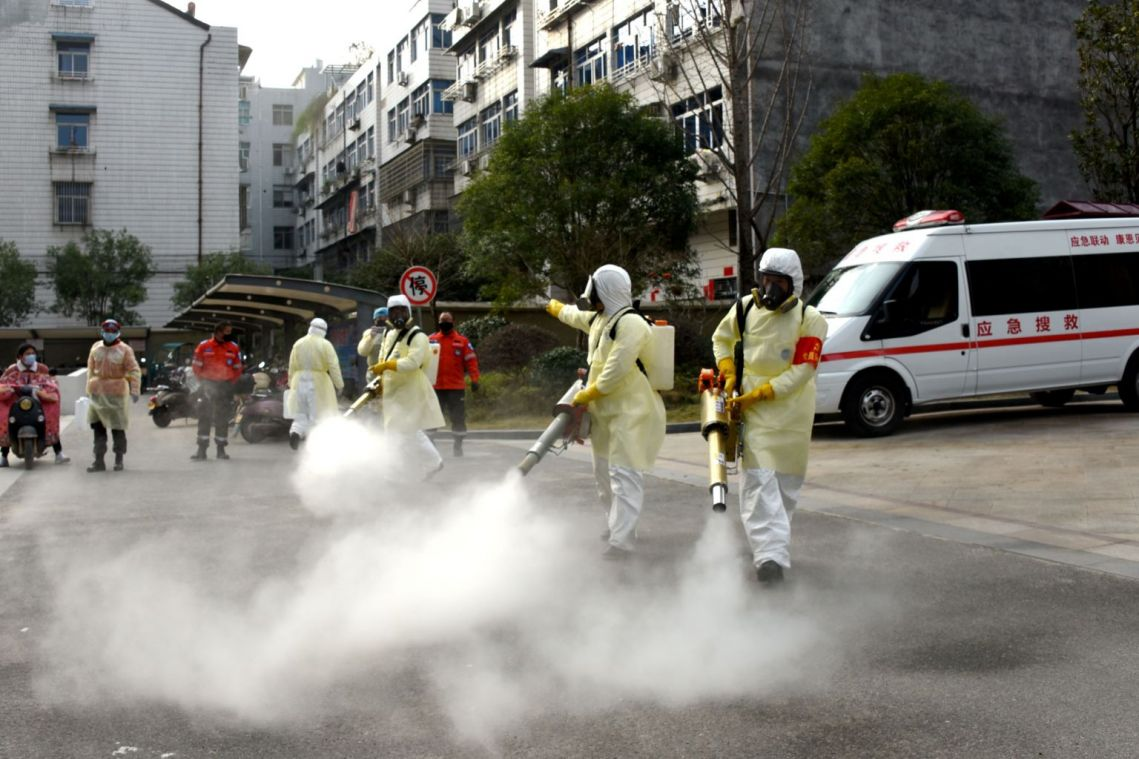 China shuts down city of Wenzhou, far from virus epicentre