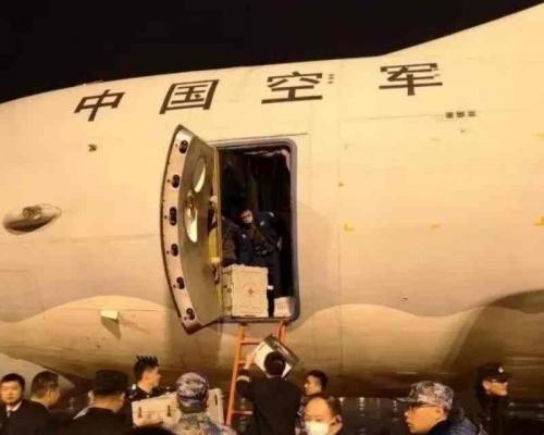 【新冠肺炎】解放军8架大型运输机运送人力及物资抵武汉