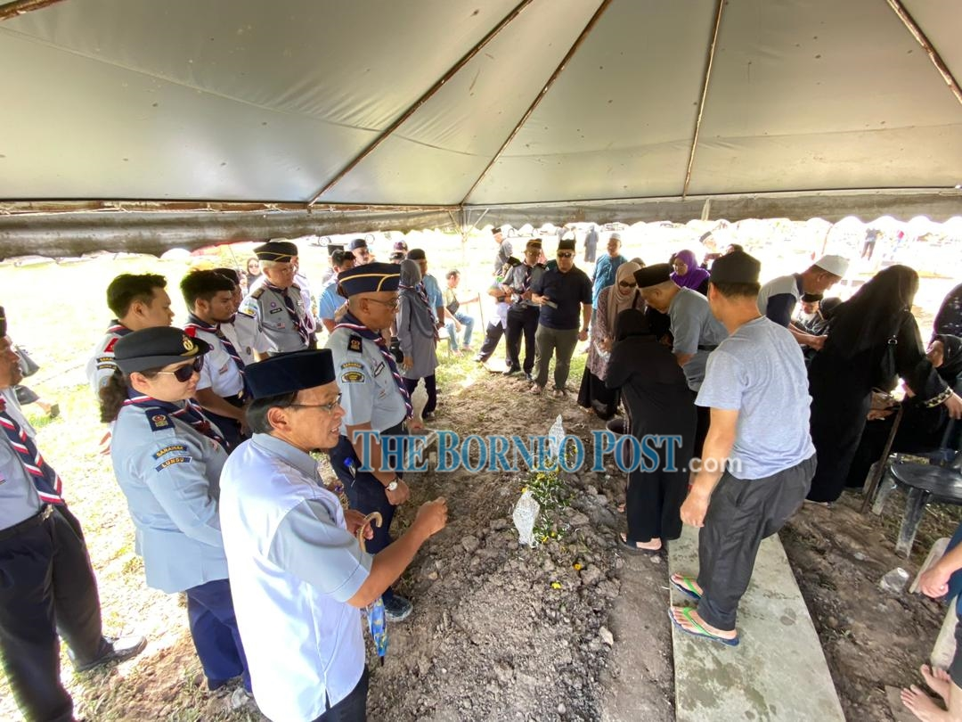 Sarawak Scout Council pays tribute to the late Mohd Said Bolhassan