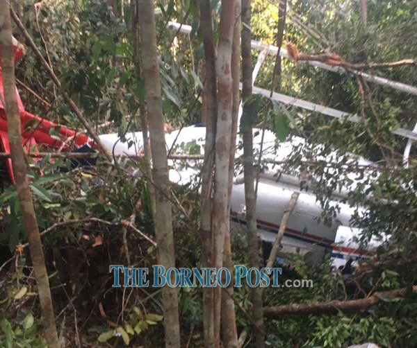 Marudi police chief says only two onboard ill-fated heli, both survived