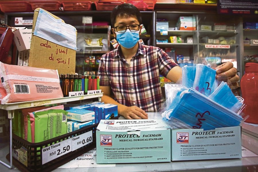 Masks still out of stock in some areas