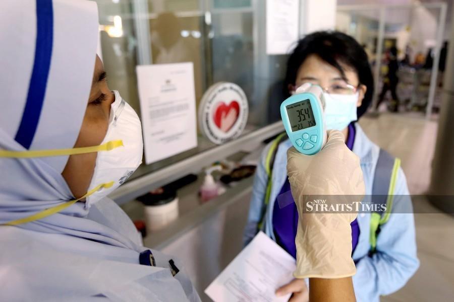 Four M'sians in close contact with Singaporean coronavirus patient test negative
