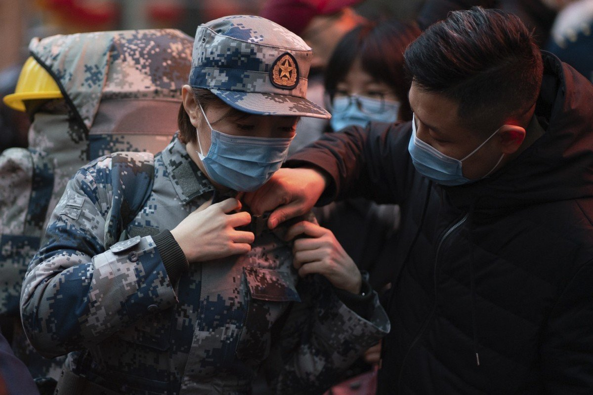 Coronavirus hospital set to open in Wuhan with 1,400 military medical staff
