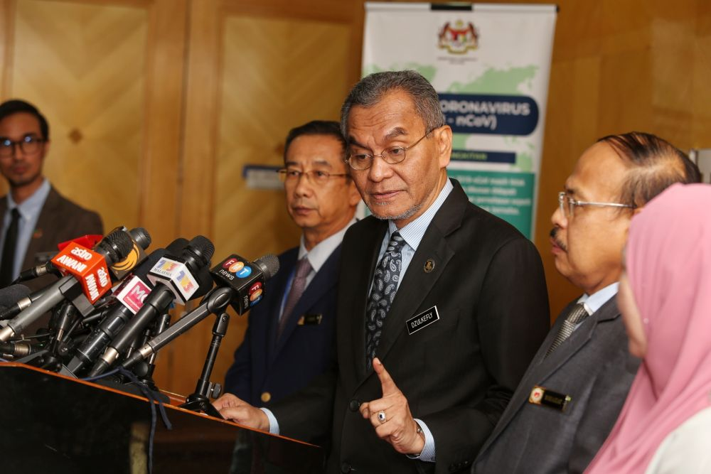 Health minister: All involved in bringing back Malaysians from Wuhan will undergo 14 days mandatory quarantine