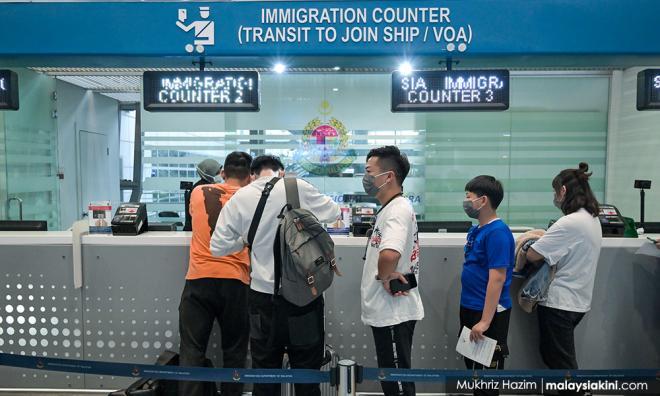 过去8天,大马禁止147中国人入境