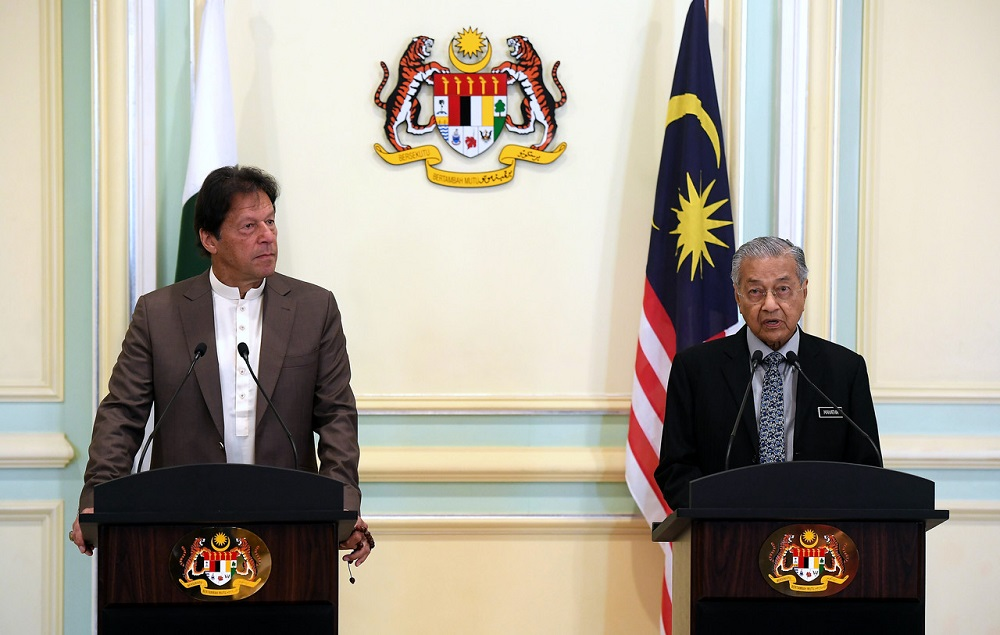 Imran Khan ends two-day visit to Malaysia