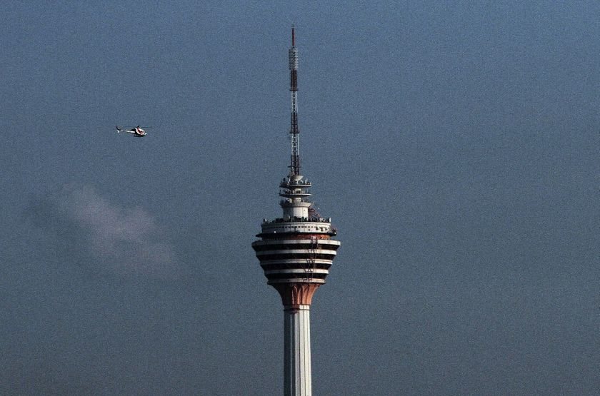 KL Tower goes orange and blue tonight for World Cancer Day