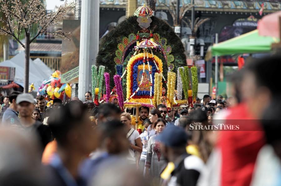 Roads to be closed in stages for 5 days for Thaipusam