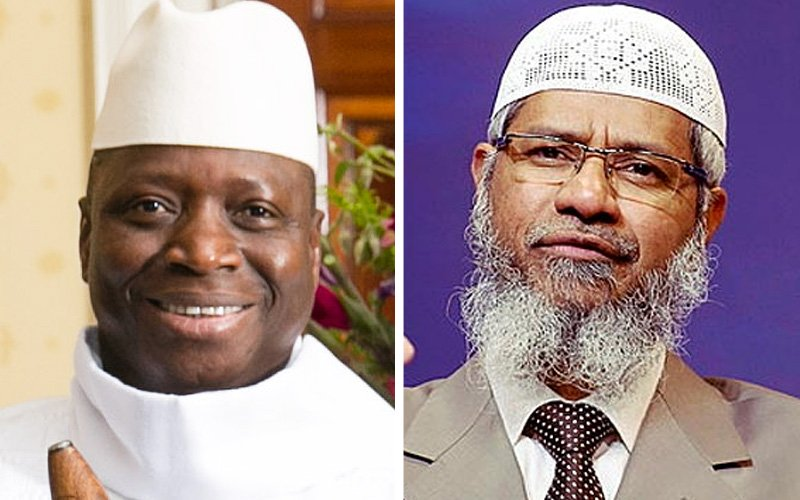 Ex-Gambian president influenced by Naik, commission told