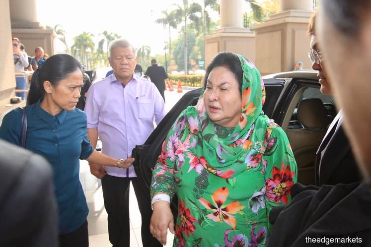Rosmah arrives at High Court
