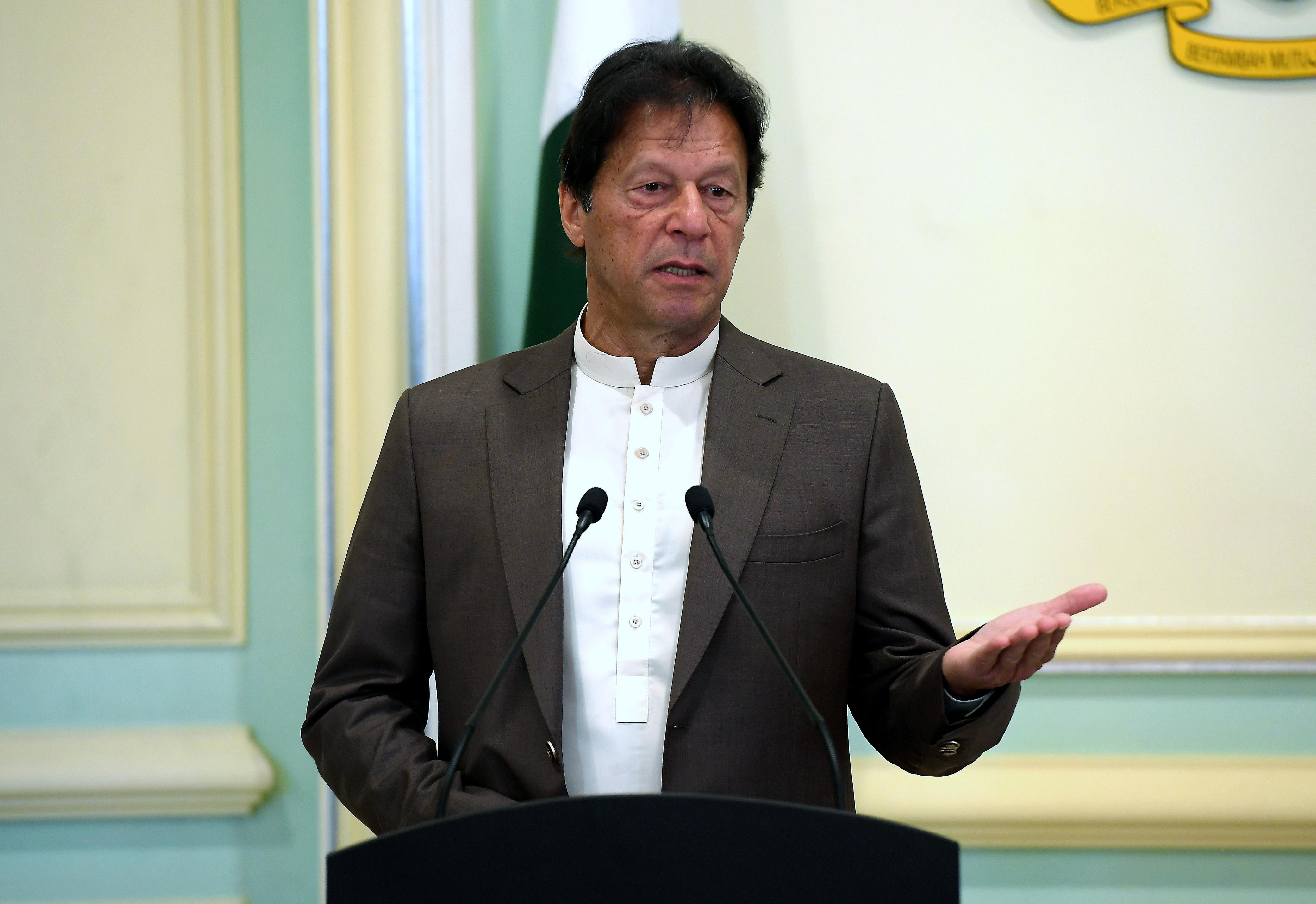 Pakistan PM Khan admits 'pressure' to miss KL Summit