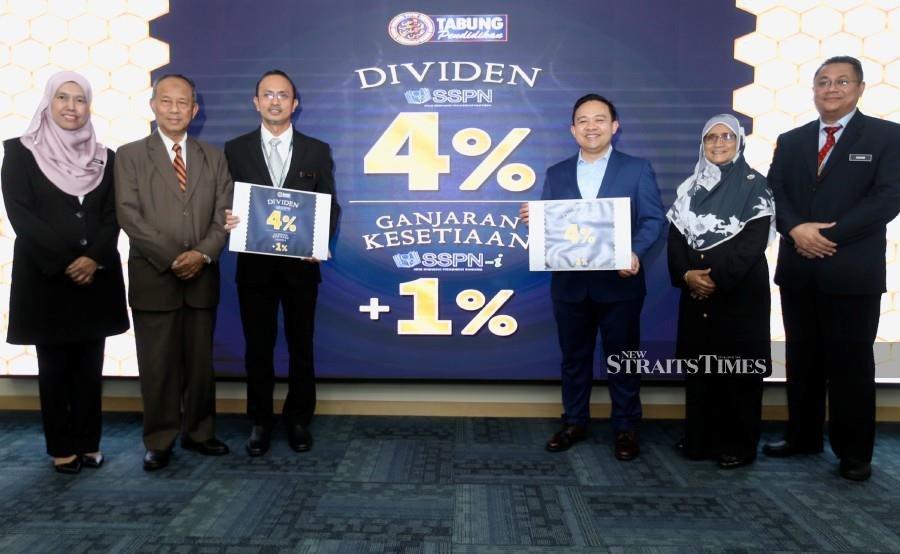 PTPTN announces 4 per cent dividend