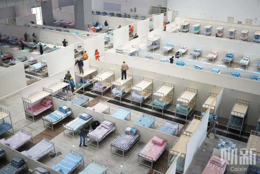 Gallery: Wuhan's Makeshift Medical Facilities