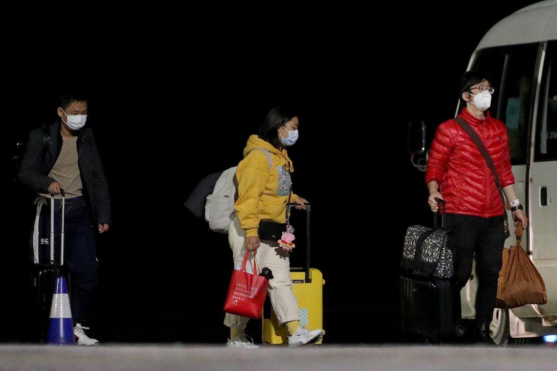 Coronavirus: Australia considers sending Wuhan evacuees to Outback mining camps