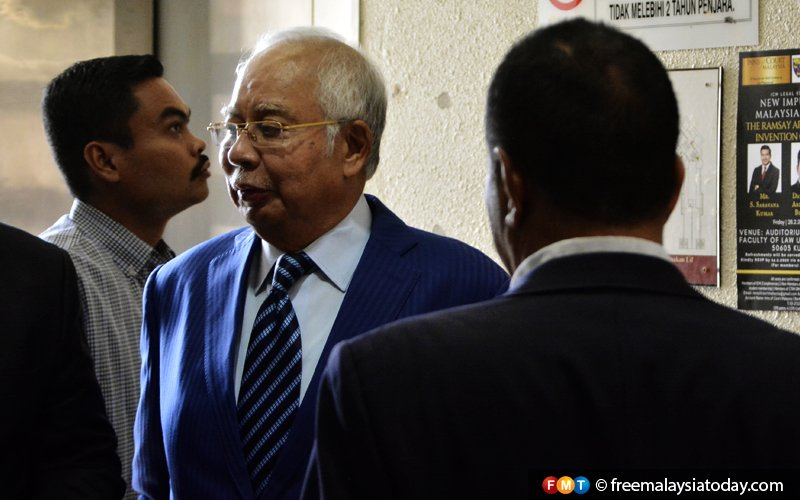 Court tells Najib to leave proceedings in Rosmah's graft trial