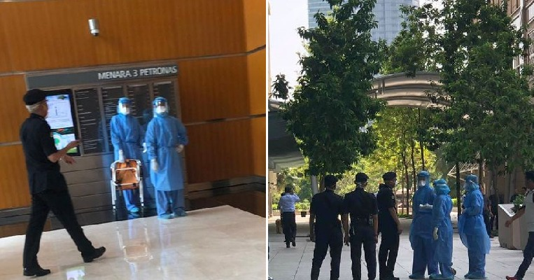 MOH Confirms Suspected Wuhan Virus Case in KLCC After Photos Of Hazmat Team There Go Viral