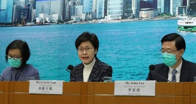 【新冠肺炎】林郑宣布周六起 从中国入境香港人士须隔离14天