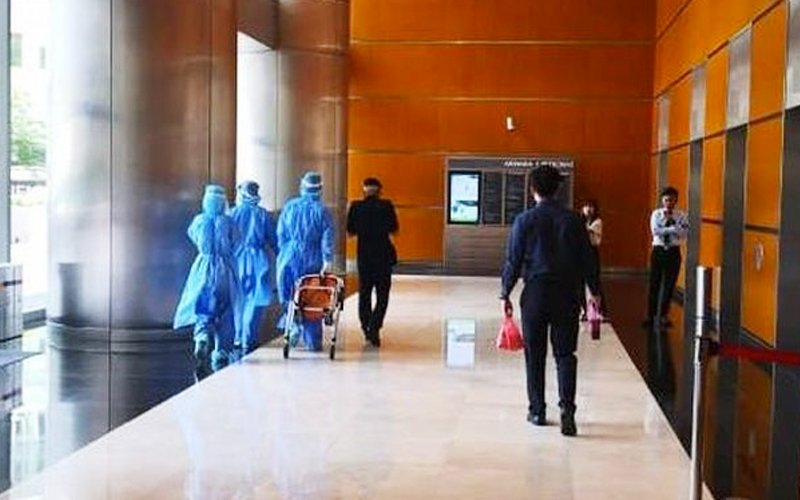 Hazmat team sent to KLCC over virus fears after Canadian teen collapses