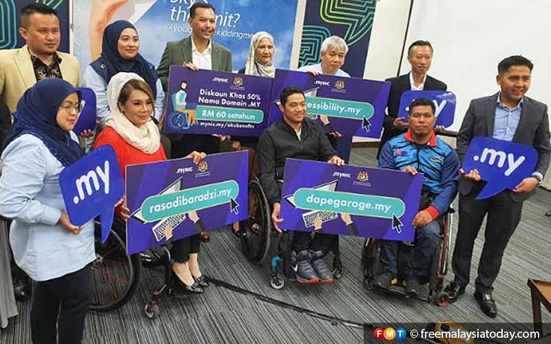 Disabled communities eager to join Malaysia's digital economy