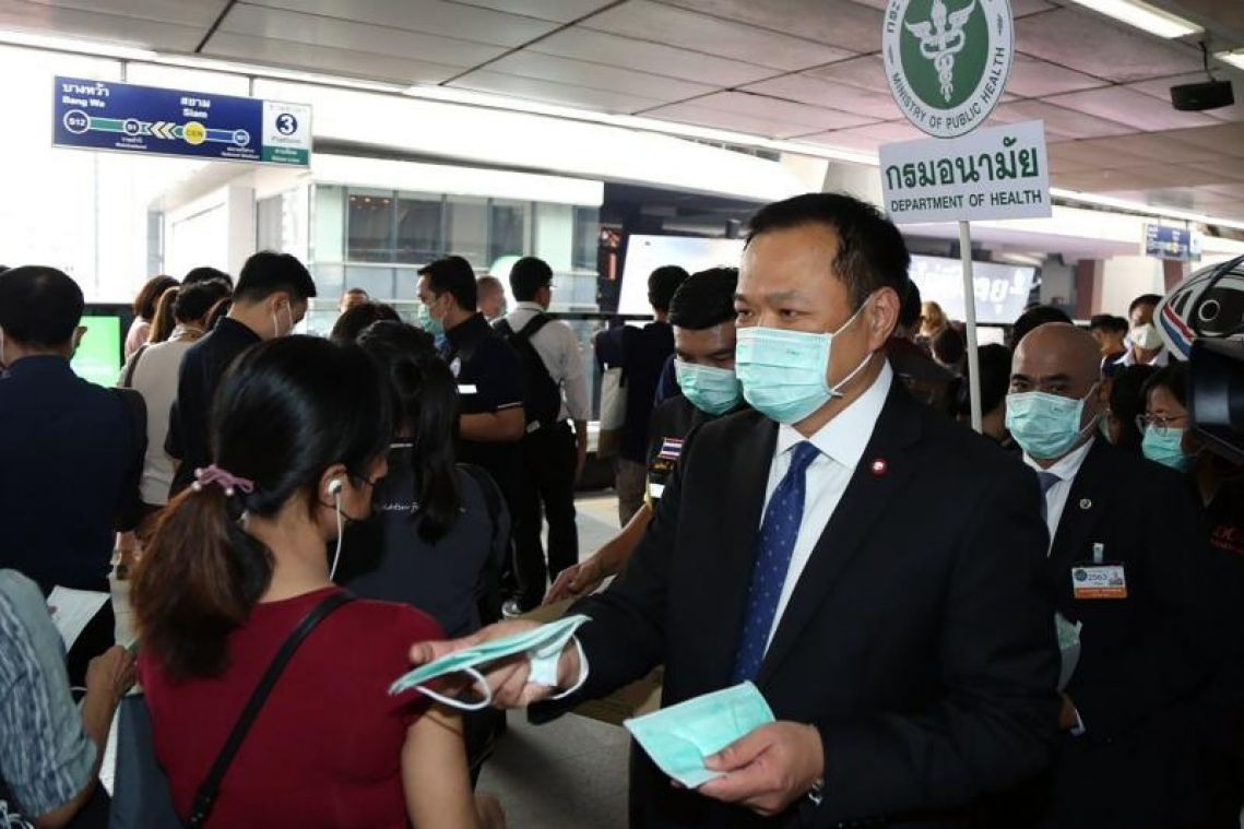 Coronavirus: Kick out 'Western' tourists not wearing face masks, says Thai health minister