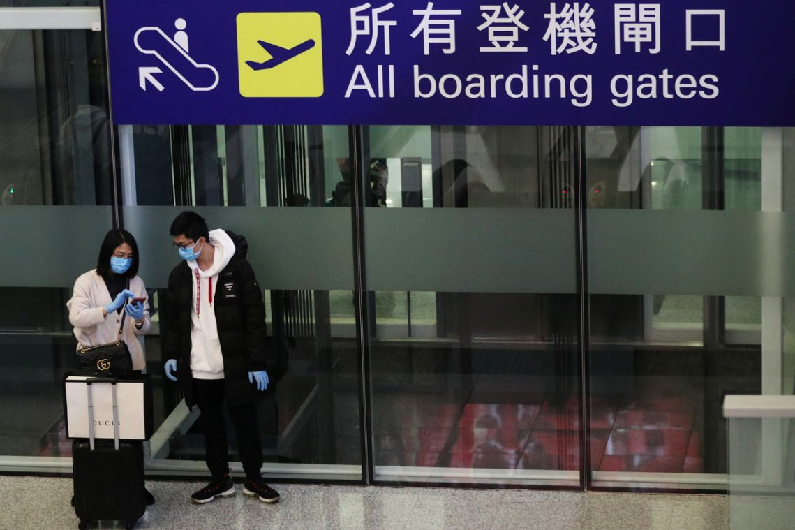 Coronavirus: Taiwan says infected couple likely picked up infection on Hong Kong flight to Italy
