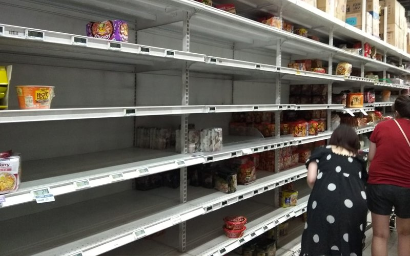 Action against panic buying by Singaporeans in JB