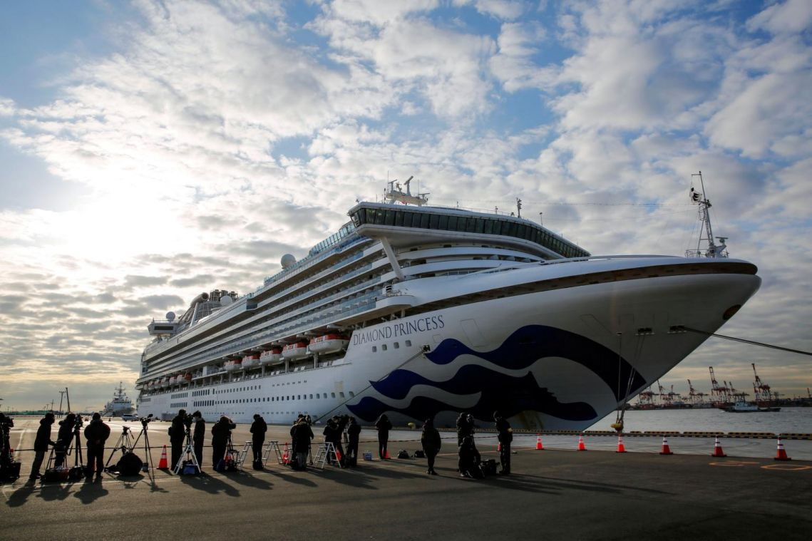 Three more coronavirus cases found on Japan cruise ship, total now 64