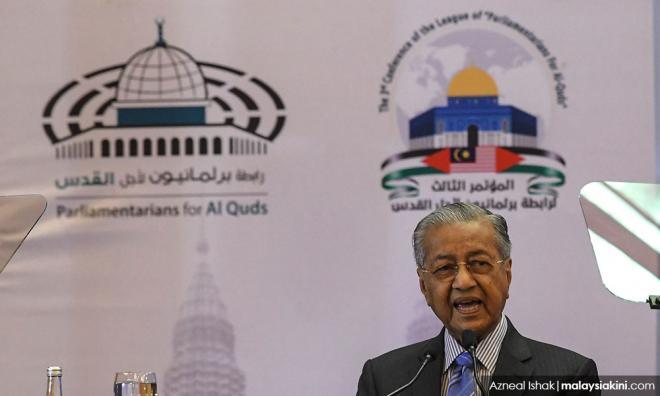 马哈迪抨击美国以巴和平方案,促川普辞职下台