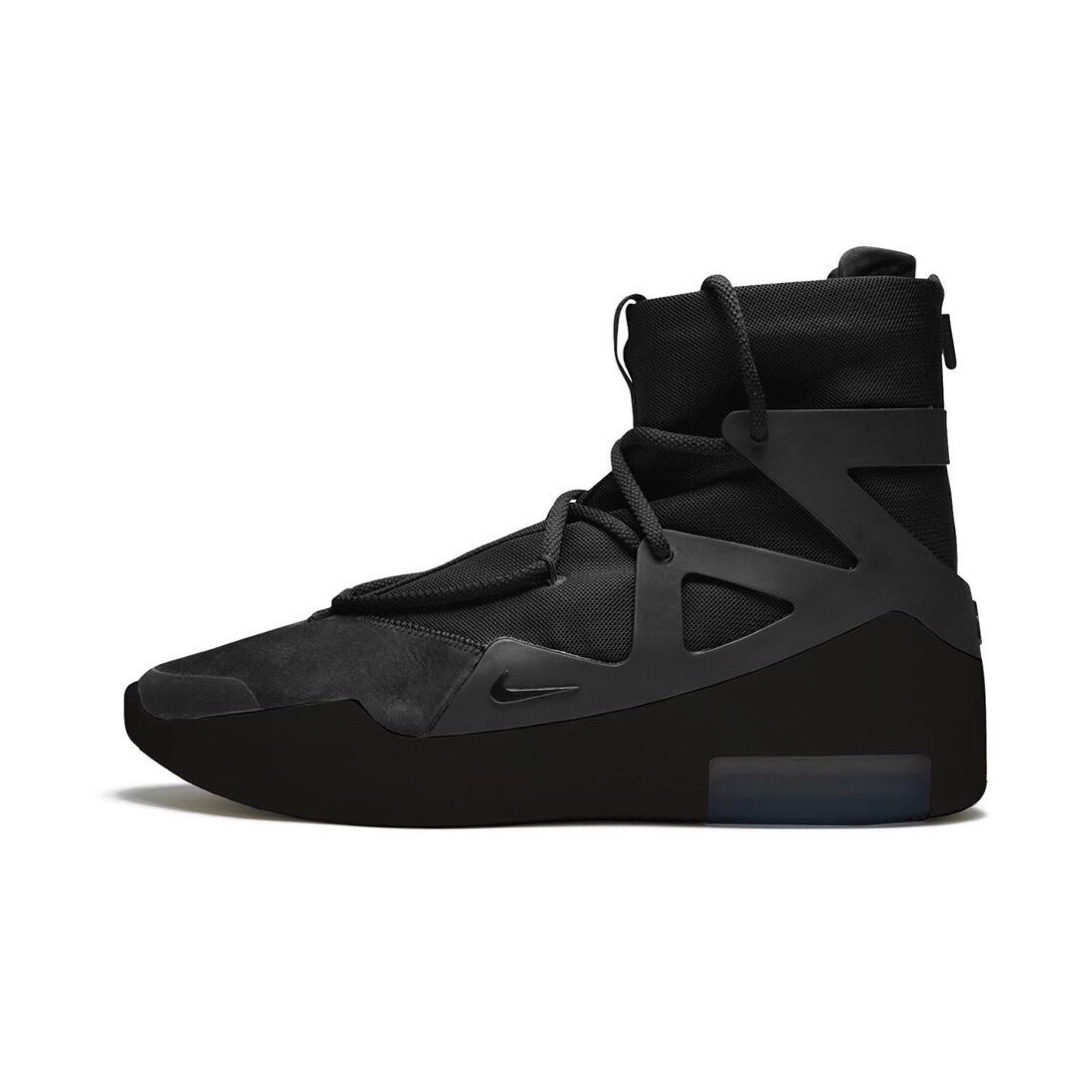 The 'Triple Black' Air Fear of God Gets a New Release Date