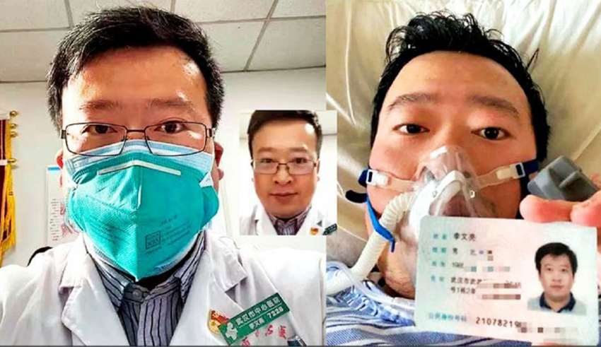 """李文亮被认定""""工伤"""" 官方发48万补助金"""