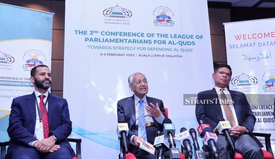 Palestine-Malaysia friendship committee/caucus revived