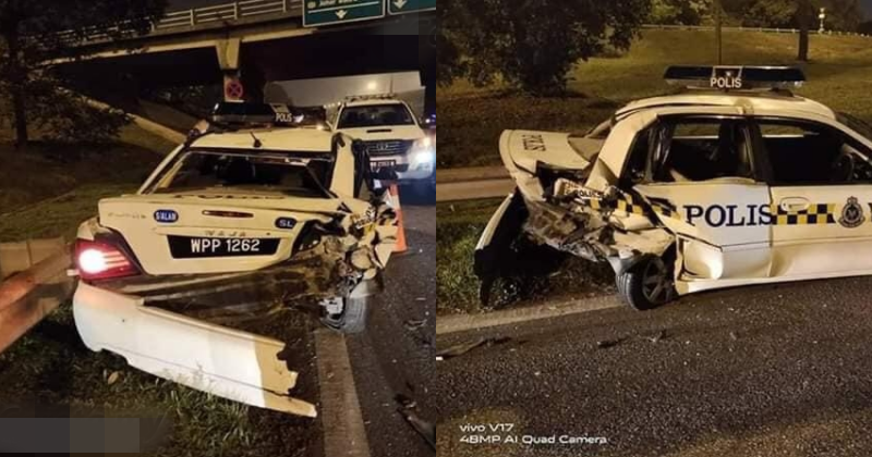 Reports Say Driver Was 'Not Drunk Enough' When Crashed Into Traffic Police at Klang Highway