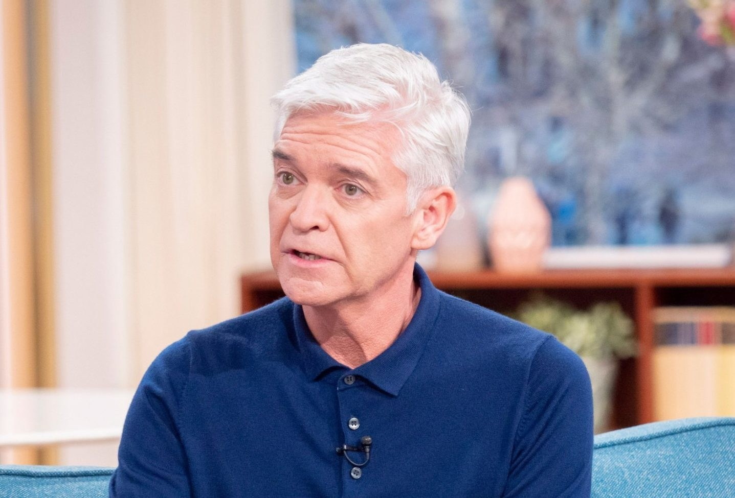Phillip Schofield has given up on lockdown routine as he shows off new hairdo